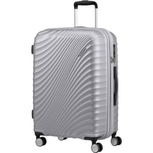 American Tourister bőrönd Jetglam spinner 67/24 M.Silver - Ezüst 122817/1546 Metallic Silver-Metál Ezüst