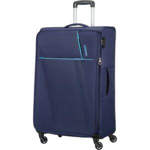 American Tourister bőrönd Joyride 48x79x31/33cm 4,1kg 4kerekű 89158/0577 északi kék