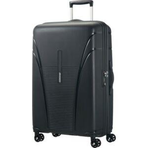 American Tourister bőrönd Kemény 4 kerekű bőrönd SKYTRACER spinner 77/28