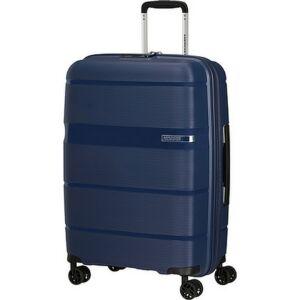 American Tourister bőrönd Linex spinner 66/24 Deep Navy 128454/D418 Deep Navy - 4 kerekű