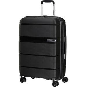 American Tourister bőrönd Linex spinner 66/24 Vivid Black 128454/1895 Vivid Black - 4 kerekű