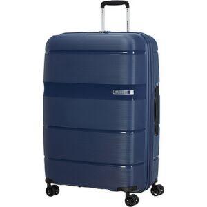 American Tourister bőrönd Linex spinner 76/28 Deep Navy 128455/D418 Deep Navy - 4 kerekű