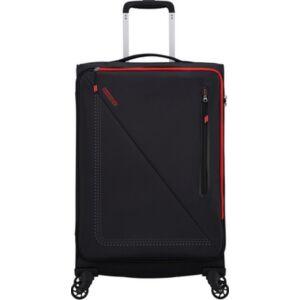 American Tourister bőrönd Lite Volt spinner 68/25 Tsa 134525/1073 Black/Red