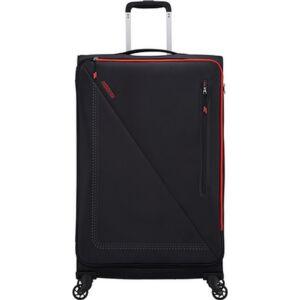 American Tourister bőrönd Lite Volt spinner 79/29 Tsa 134526/1073 Black/Red