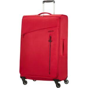 American Tourister bőrönd Litewing 47x81x29cm 2,7kg 4kerekű 89460/0507 piros/fekete