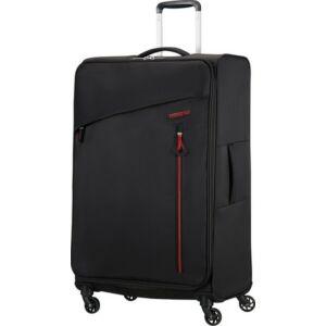 American Tourister bőrönd Litewing 47x81x29cm 2,7kg 4kerekű 89460/0662 fekete/piros