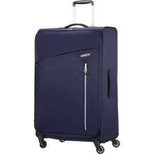 American Tourister bőrönd Litewing 47x81x29cm 2,7kg 4kerekű 89460/4424 sötétkék/fehér