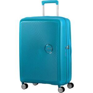 American Tourister bőrönd Soundbox 46,5x67x29/32cm 3,7kg 4kerekű 88473/4497 türkiz