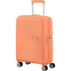 American Tourister bőrönd Soundbox spinner 55/20 Cantaloupe 88472/6949 Cantaloupe - 4 kerekű