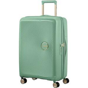 American Tourister bőrönd Soundbox spinner 67/24 Almond Green 88473/7743 Almond Green - 4 kerekű