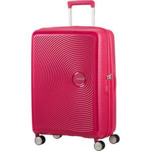 American Tourister bőrönd Soundbox spinner 67/24 Lightning Pink 88473/5502 Lightning Pink - 4 kerekű