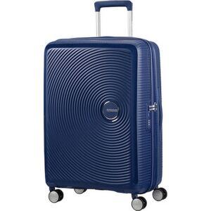 American Tourister bőrönd Soundbox spinner 67/24 Midnight Navy 88473/1552 Midnight Navy - 4 kerekű
