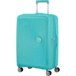 American Tourister bőrönd Soundbox spinner 67/24 Poolside Blue 88473/8864 Poolside Blue - 4 kerekű