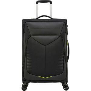 American Tourister bőrönd Summerfunk SPIN 67/24 Exp Tsa Carbon 133511/1052 Black/Carbon