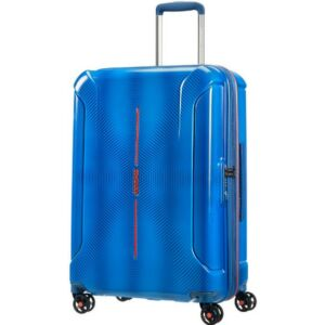 American Tourister bőrönd Technum 46x68x27/32 3,7kg 73/84,5l 68/27/32 89303/6672 kék-narancs