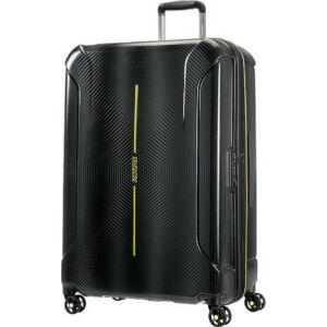 American Tourister bőrönd Technum 51x77x30/35 4,3kg 108/127,5l 77/30/35 89304/6671 fekete-zöld