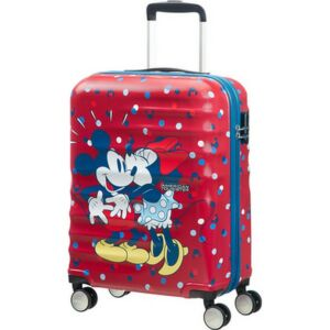 American Tourister bőrönd WAVEBREAKER Disney 47x67x26cm 3,6kg 4kerekű 85670/5975 Minnie szereti Mickey