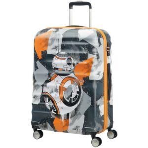 American Tourister bőrönd WAVEBREAKER Disney 47x67x26cm 3,6kg 4kerekű STAR WARS 85672/4837 BB-8