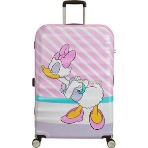 American Tourister bőrönd Wavebreaker Disney SPIN 77/28 85673/8660 Daisy Pink Kiss