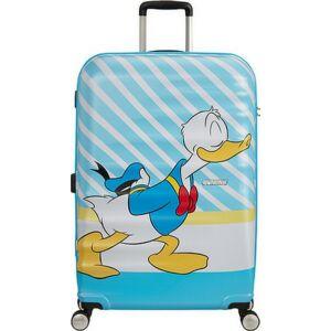 American Tourister bőrönd Wavebreaker Disney SPIN 77/28 85673/8661 Donald Blue Kiss