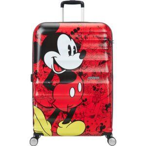 American Tourister bőrönd Wavebreaker Disney SPIN 77/28 85673/6976 Mickey Comics Red