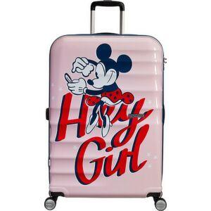 American Tourister bőrönd Wavebreaker Disney SPIN 77/28 85673/8694 Minnie Darling Pink