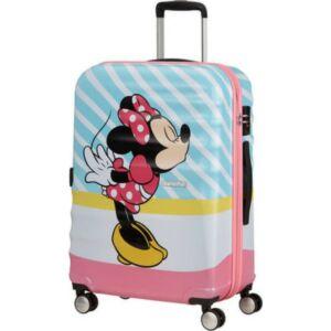 American Tourister bőrönd Wavebreaker Disney Spin. 67/24 85670/8623-Minnie Pink Kiss