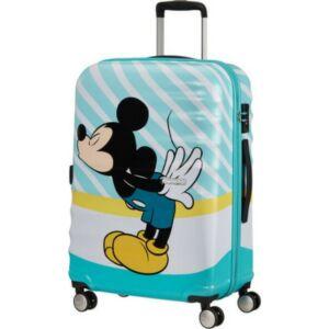 American Tourister bőrönd Wavebreaker Disney Spin. 67/24 85670/8624-Mickey Blue Kiss