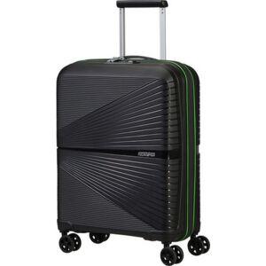 American Tourister kabinbőrönd Airconic spinner 55/20 Tsa Neon 135151/9064 Black/Acid Green