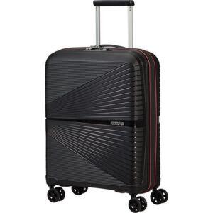 American Tourister kabinbőrönd Airconic spinner 55/20 Tsa Neon 135151/9065 Black/Paradise Pink