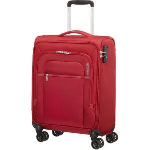 American Tourister kabinbőrönd Crosstrack spinner 55/20 Tsa 133189/1741 Red/Grey
