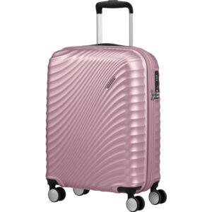 American Tourister kabinbőrönd Jetglam spinner 55/20 M.Pink - rózsaszín 122816/2777 Metallic Pink-Metál Pink