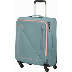 American Tourister kabinbőrönd Lite Volt spinner 55/20 Tsa 134524/7303 Grey/Peach