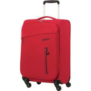 American Tourister kabinbőrönd Litewing 40x55x20cm 1,5kg 4kerekű 89457/0507 piros/fekete