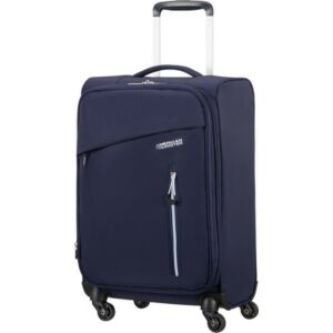 American Tourister kabinbőrönd Litewing 40x55x20cm 1,5kg 4kerekű 89457/4424 sötétkék/fehér