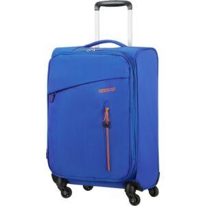 American Tourister kabinbőrönd Litewing 40x55x20cm 1,5kg 4kerekű 89457/5460 kék/narancs