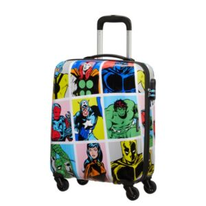 American Tourister kabinbőrönd Marvel Legends Spin.55/20 Alfatwist 2.0 Marvel Pop Art