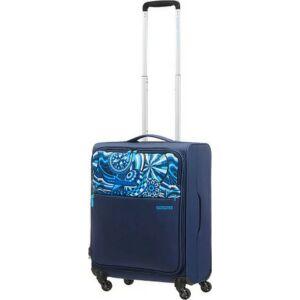 American Tourister kabinbőrönd MWM Summer FLOW 40x55x20 1,5kg 42l 55/20 104242/6688 kék nyári áram