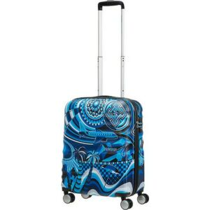 American Tourister kabinbőrönd MWM Summer FLOW 40x55x20 2,6kg 36l 55/20 104237/6688 kék nyári áram
