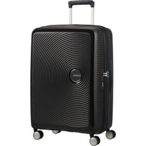 American Tourister kabinbőrönd Soundbox 40x55x20/23cm 2,6kg 4kerekű 88472/1027 fekete
