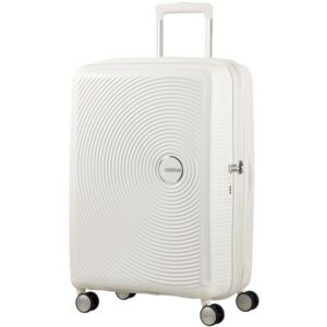 American Tourister kabinbőrönd Soundbox 40x55x20/23cm 2,6kg 4kerekű 88472/2343 fehér