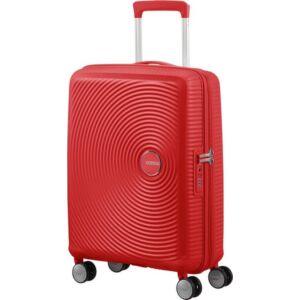 American Tourister kabinbőrönd Soundbox 40x55x20/23cm 2,6kg 4kerekű 88472/1226 korall piros