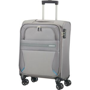 American Tourister kabinbőrönd Summer Voyager 40x55X20 36L 2,6kg textil 4kerekű bőrönd upright 55/20