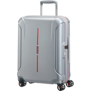 American Tourister kabinbőrönd Technum 40x55x20cm 2,4kg 4kerekű 89302/1004 szürke/narancs