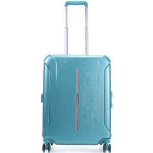 American Tourister kabinbőrönd Technum 40x55x20cm 2,4kg 4kerekű 89302/1457 zöld/narancs