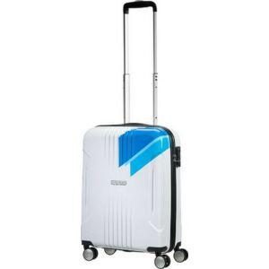 American Tourister kabinbőrönd Tracklite 40x55x20 2,6kg 34l 55/20 88742/2717 világoskék csíkos