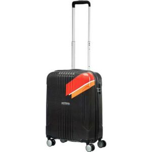 American Tourister kabinbőrönd Tracklite 40x55x20 2,6kg 34l 55/20 88742/2687 narancs csíkos