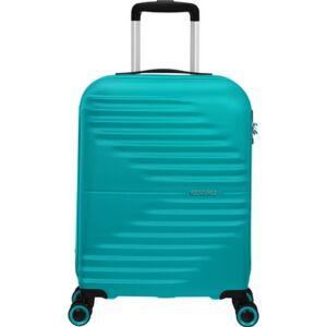 American Tourister kabinbőrönd Wavetwister spinner 55/20 Tsa 131989/5467 Aqua Turquoise