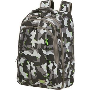 """American Tourister laptoptáska Fast Route lapt.backp./Wh 15,6"""" Core 134555/8878 Camo/Acid Green"""