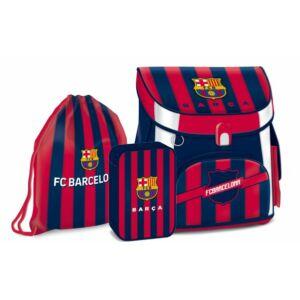 Iskolatáska szett Ars Una FC Barcelona - focis iskolatáska, tolltartó, tornazsák